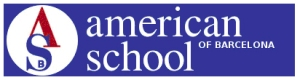 American School o Barcelona - logo azul