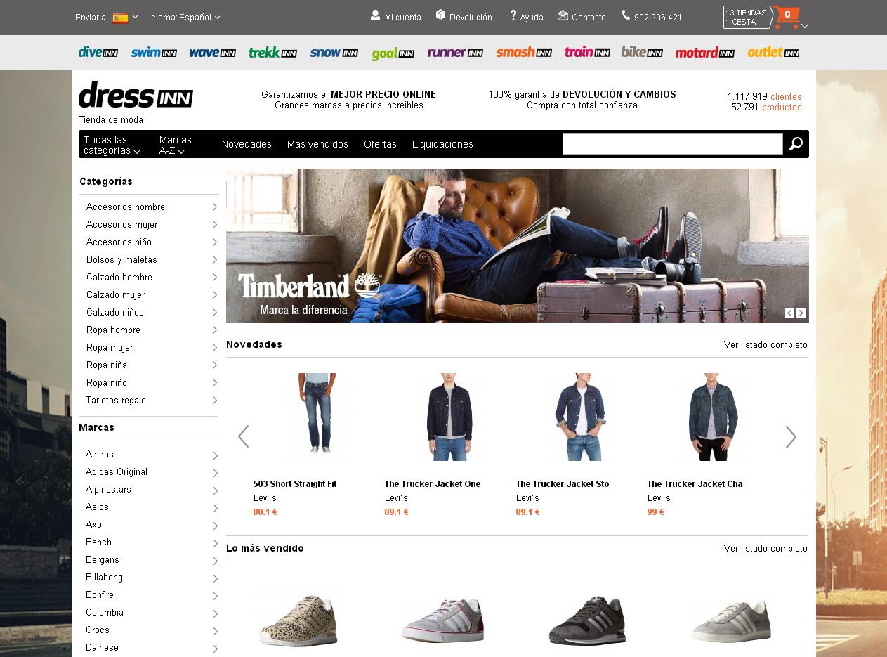 f7e093cf0e4e Tradeinn da el salto al mundo de la moda con una nueva tienda online ...