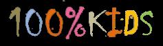 Logo 100%KIDS Valkiria Hub Space
