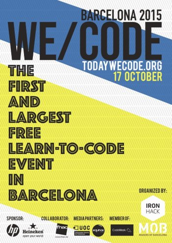 wecode-poster web
