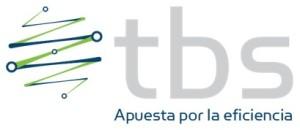 logo TBS con slogan