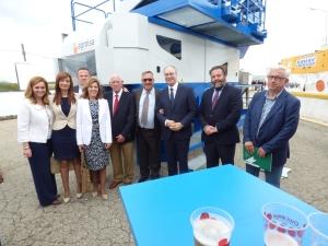 La empresa de maquinaria Agroisa participó en la XVIII Feria del Olivo de Montoro