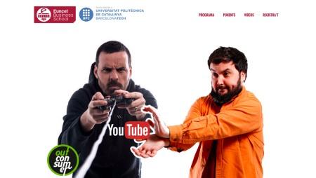 Jornada magistral Los Secretos de Youtube a EUNCET copia